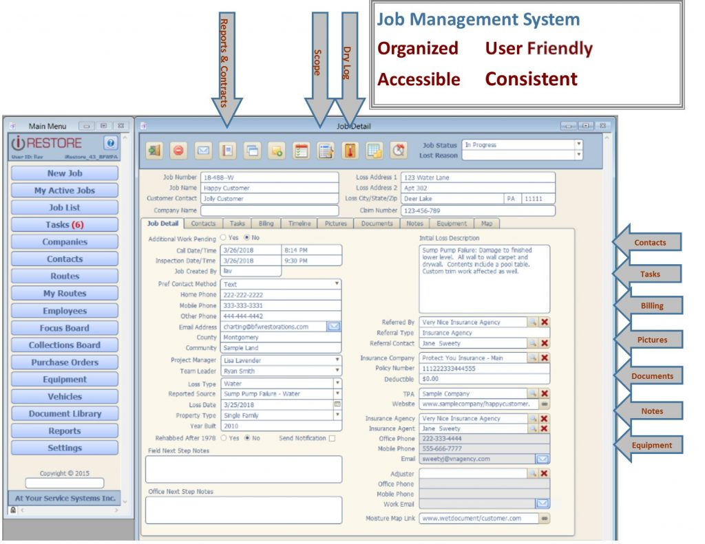 industry tips, restoration management, restoration management software