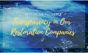 restoring success, restoration management, restoration business management, restoration business leadership
