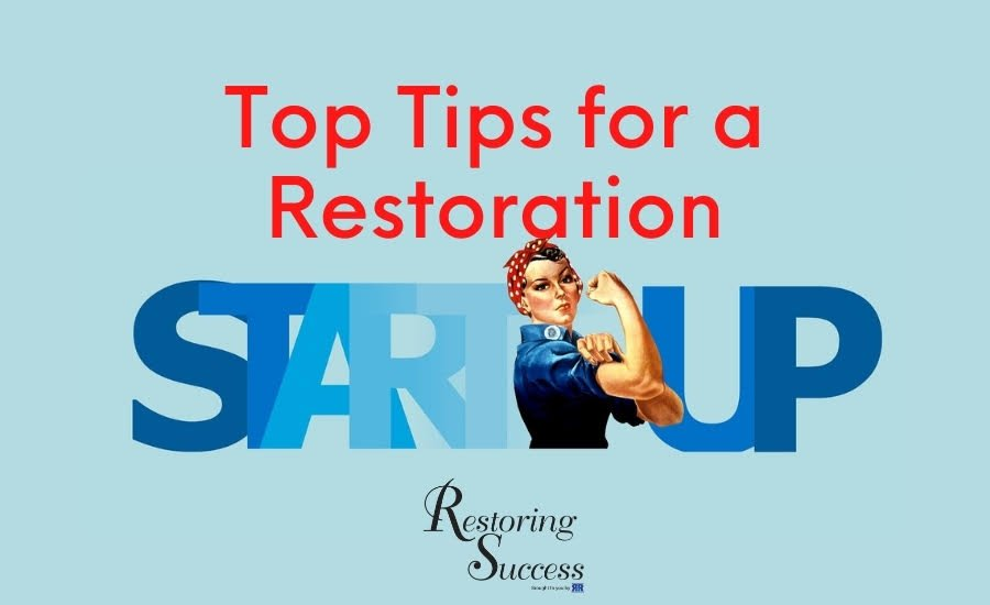 restoration business development, startup restoration business development, startup restoration business growth